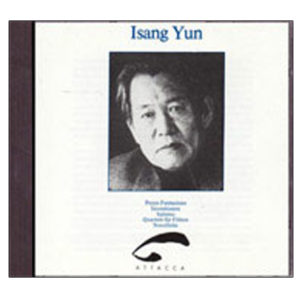 Isang Yun Music for flutes 1990.56
