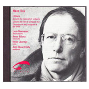 Hans Kox L'Allegria, four orchestral pieces 1992.62