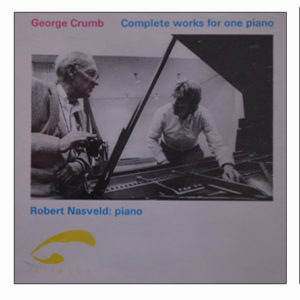 George Crumb Complete works for one piano Robert Nasveld  1993.71-72