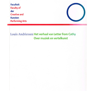 Louis Andriessen  Letter from Cathy  2008.115